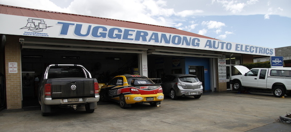 Tuggeranong Auto Electrics workshop front
